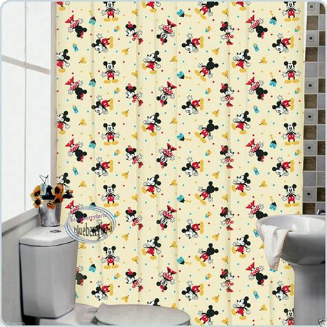 mickey shower curtain disney mickey mouse bath shower curtain with rings