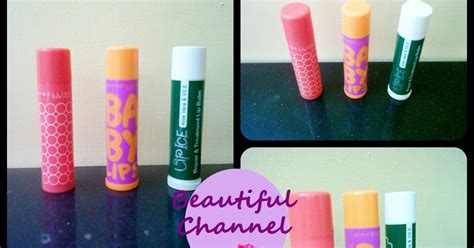 Maybelline Lip Smooth Color Care beautiful channel lip balm maybelline lip smooth color