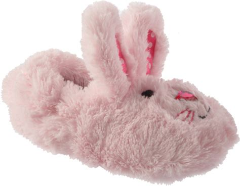 stride rite bunny slippers infant toddler stride rite fuzzy bunny light pink