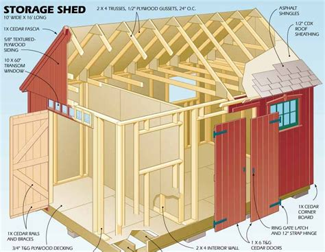 Shed 16 Reviews by 16 X 16 Barn Shed Plans Tuff Shed Cabin Reviews