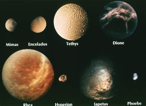saturns largest moons saturn s electric moons