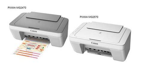 Printer Canon Baru canon hadirkan produk 2 printer baru pixma mg2470 dan