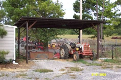 Building A Tractor Shed by Metal Solutions Metal Fabrication Repair Company