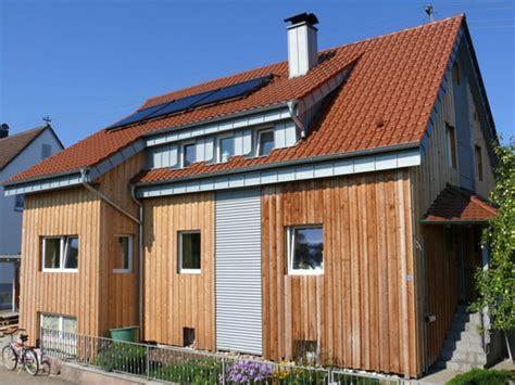 Haus Mit Holzfassade by Einfamilienhaus Mit Holzfassade Enbausa De