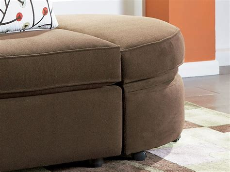 half round ottoman connection brown ottoman half round cort com