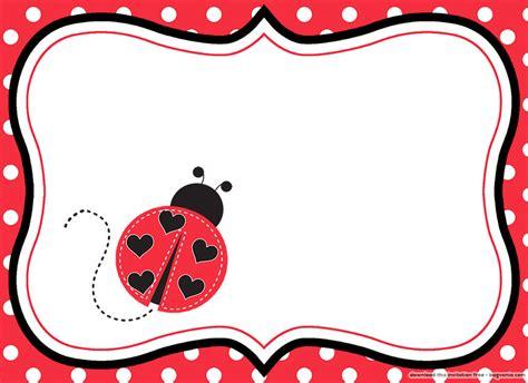 Ladybug Template Free