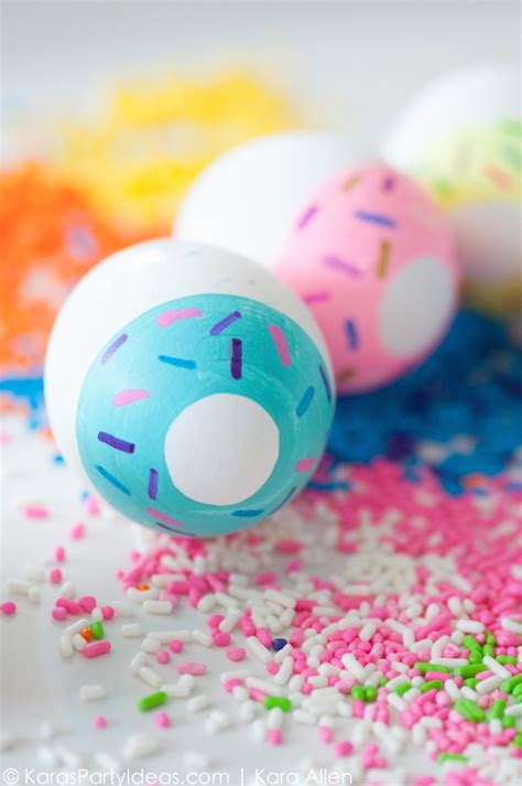 ideas for easter eggs kara s party ideas diy doughnut easter eggs kara s