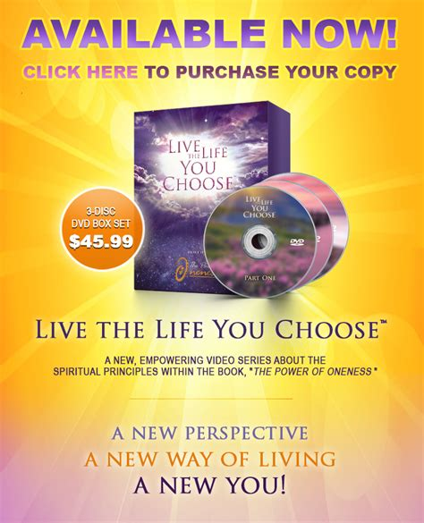 the power of connecting to the oneness books the power of oneness live the you choose self help