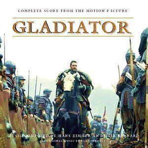 gladiator film track gladiator complete score disc 2 hans zimmer lisa