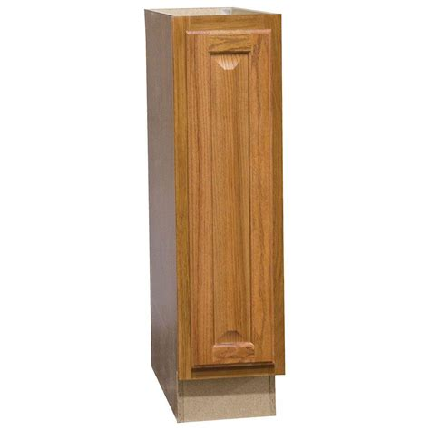 9 Kitchen Base Cabinet Hton Bay Hton Assembled 9x34 5x24 In Base Kitchen Cabinet In Medium Oak Kbf09 Mo The