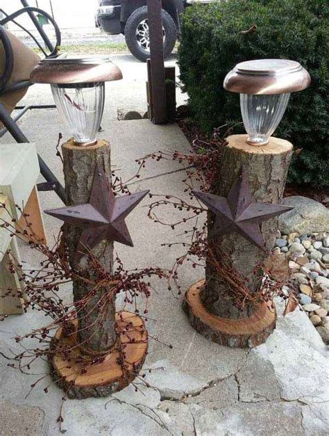 ideas  decorate  home  recycled wood