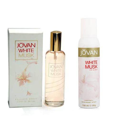 Parfum Jovan White Musk jovan white musk perfume deodorant combo 96ml