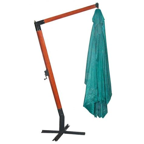 Parasol Rectangulaire Deporte Inclinable by Parasol Rectangulaire D 233 Port 233 Et Inclinable Vert 3 X 4 M