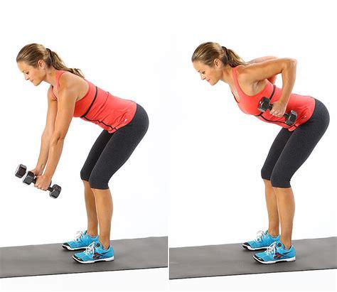 Dumbbell Fitness dumbbell arm exercises for beginners popsugar fitness