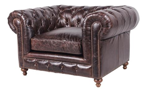 authentic chesterfield sofa spectra home authentic leather chesterfield chair chairish