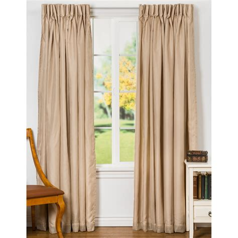 pleated thermal drapes commonwealth home fashions rhapsody semi sheer curtains