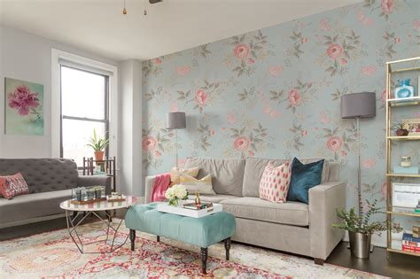 shabby chic wall mural dreamy flowers living room shabby chic flowers and