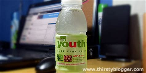 Would You Drink This Aloe Juice by Alo Youth Aloe Vera Drink Thirsty