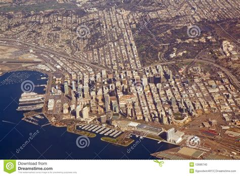 Of California In San Diego Part Time Mba by Aerial View Of San Diego California Stock Photo Image