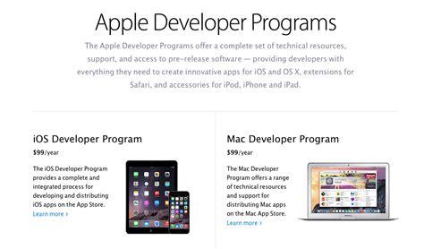 apple developer program apple developer program nuove linee guide per enti no profit