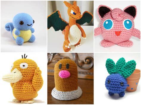 Crochet Home Decor Patterns Free 11 x crochet pattern pokemon go free stylesidea