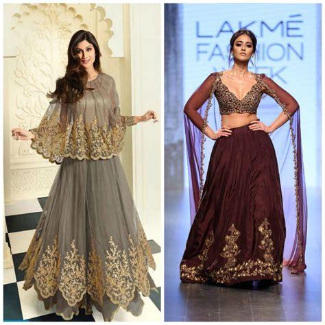 cape style lehenga ideas for girls 8 lehenga pk latest lehenga designs for this wedding season