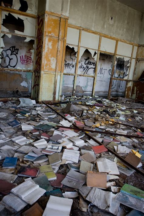 the abanonded books the abandoned detroit schools book depository