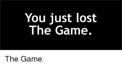 memes    lost  game
