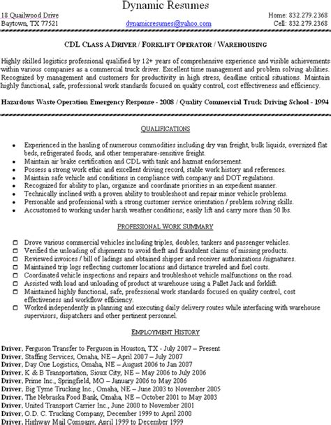 formal director and development experience featuring forklift operator resume sle