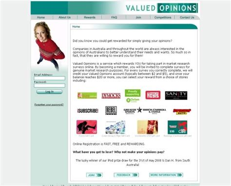 Opinions Paid - valued opinions scam just another paid surveys scam