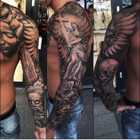 cool tattoo sleeves for men top 100 best sleeve tattoos for cool design ideas