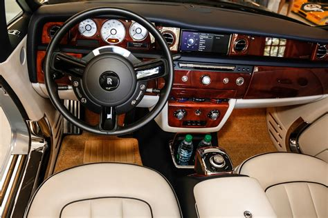 rolls royce gold interior in a rolls royce all of them