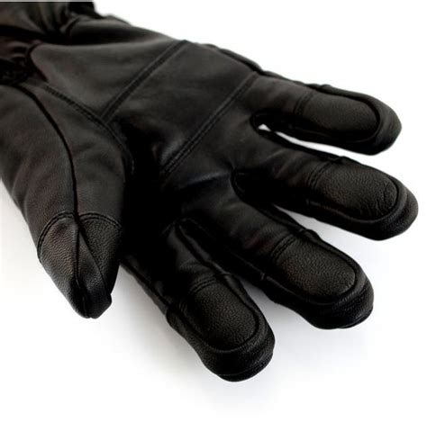 Heated Leather by Glovii Waterproof Heated Leather Gloves Cooling Store