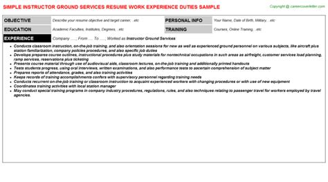 resume format for aviation ground staff 28 images airline ground staff resumes security