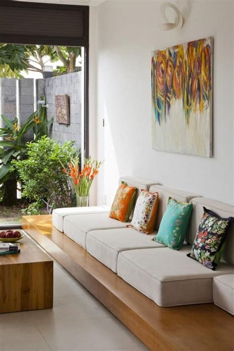 cozy living tropical house designs  summer indian
