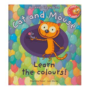 libro cat and mouse cat and mouse learn the colours anaya libros dideco
