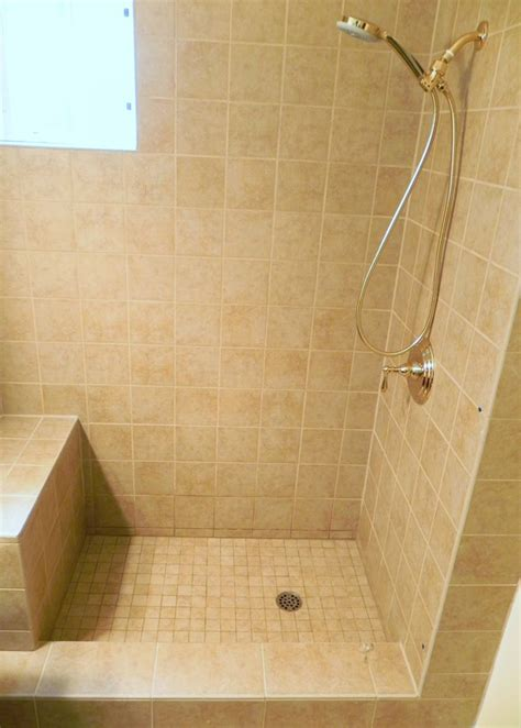 Bathroom Shower Stalls With Seat Best 47 Shower Stall With Seat Images On Pinterest Home Decor Traditional Bathroom