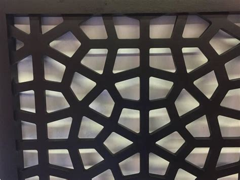 Black Lacquer Headboard by Black Lacquer Wood Headboard With Geometric Latticing At 1stdibs