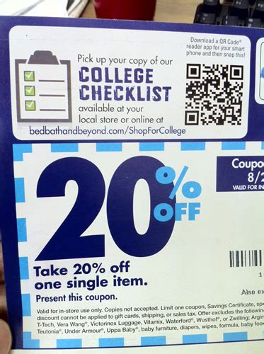 bed bath and beyond scannable coupon bed bath coupons 20 to scan specs price release date
