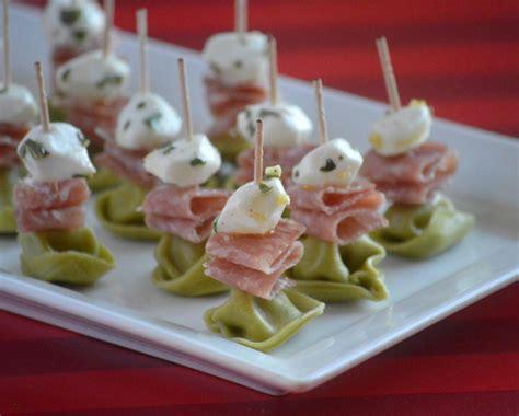 easy appetizer recipes for easy marinated mozzarella and tortellini appetizer recipe