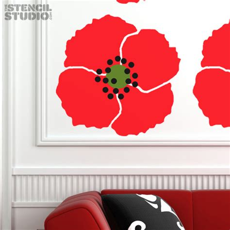 printable poppy stencils 8 best images of printable poppy flower stencil patterns