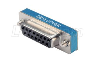 Connector Serial Port Db15 Cover and shielded connector covers