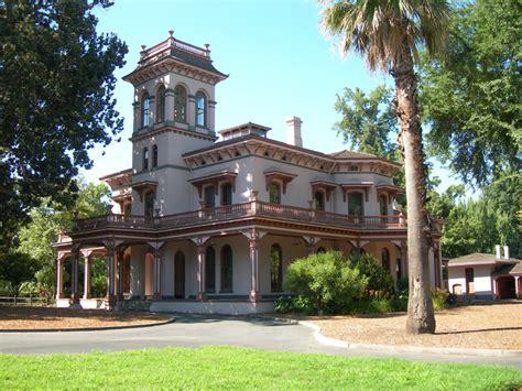 Historic House Plans bidwell mansion shp