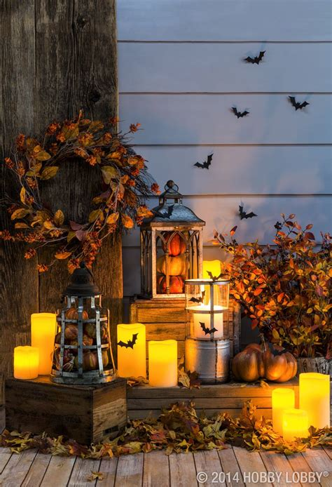 light up halloween decorations light up your front porch with fall festive lanterns