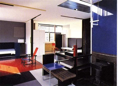 Schroder House Interior by Modern With Professor Blanchard Architecture And