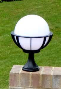 outdoor globe lights saturn pedestal light decorative globe light outdoor