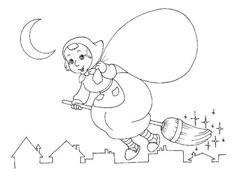 la befana coloring page search results calendar 2015