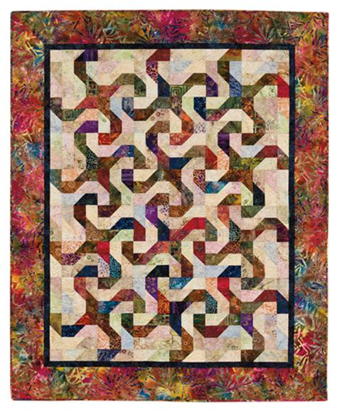 martingale monkey business quilt epattern