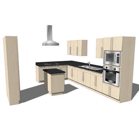 mobile kitchen island 3d model formfonts 3d models kitchen set 06 3d model formfonts 3d models textures