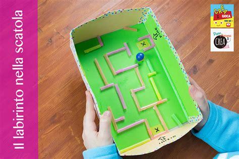 gioco da tavolo labirinto giochi fai da te il labirinto nella scatola 183 pane
